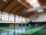 Sala gimnastyczna przy Gimnazjum Miejskim Nr 2