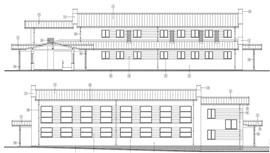 Sala gimnastyczna Szkoły Podstawowej w Zamiennicy