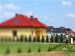 Osiedle budynków szeregowych w Wirach