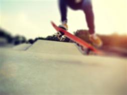 Skatepark na terenie Miejskiego Ośrodka Sportu i Rekreacji w Nowym Mieście Lubawskim
