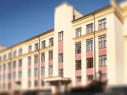 Budynek administracyjny na terenie oczyszczalni ścieków w Opolu