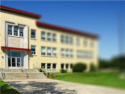 Łącznik sali sportowej przy Szkole Podstawowej