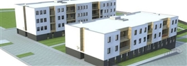 Budynki komunalne i socjalne ul. Cymsa - I etap