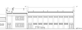 Szkoła Podstawowa - sala gimnastyczna w Chmielowie
