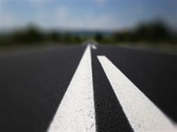 Skrzyżowanie drogi powiatowej 2775W / 2724W