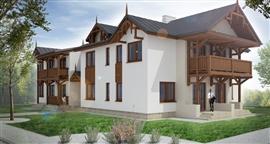 Zdrojowe Osiedle - budynek mieszkalny wielorodzinny w Nałęczowie