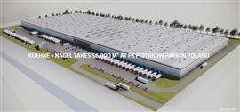 Park logistyczny P3 Piotrków - Kuehne Nagel