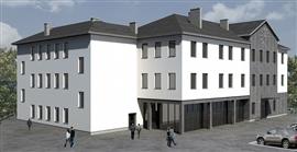 Budynek kulturalno-edukacyjny w Łapach - I etap