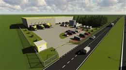 Ericius Logistic Park - obiekt RD1