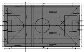 Boisko piłkarskie przy Zespole Szkół Ekonomicznych w Lesznie