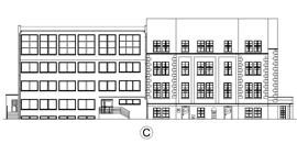 Budynek Urzędu Miejskiego i Starostwa Powiatowego - termomodernizacja
