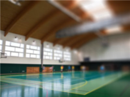 Sala gimnastyczna Zespołu Szkół w Strzegocicach