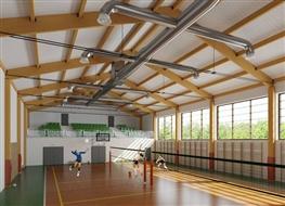 Hala sportowa przy Zespole Szkół Licealnych