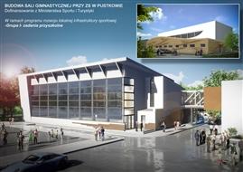 Sala Gimnastyczna przy Zespole Szkół w Pustkowie