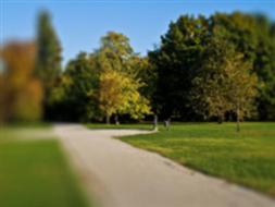 Park miejski w Sławie