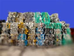 Hala sortowni odpadów w Działdowie